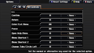 Options from CrossCode
