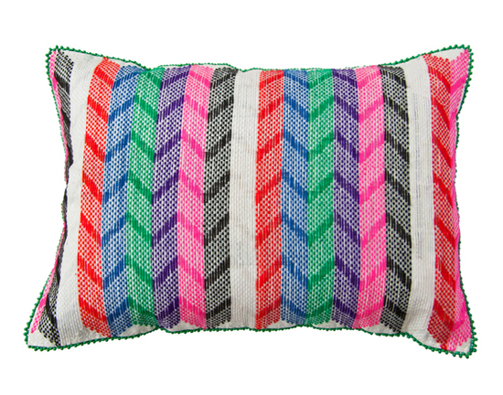 Safari Fusion blog | A wish to do something cushion | JLangazela Cushion (arrow) by Safari Fusion www.safarifusion.com.au