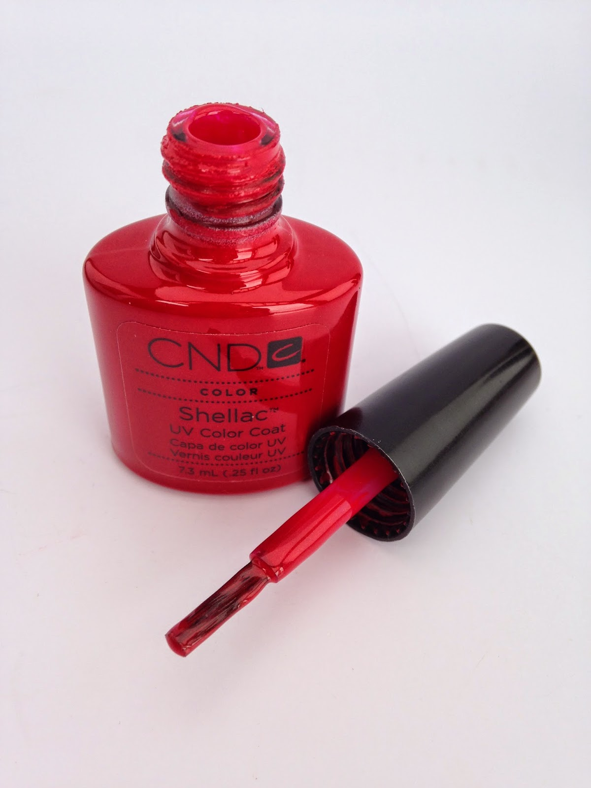CND Shellac in the color Hollywood