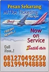 Now Batik Air On Service