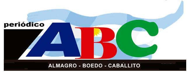 En Almagro-Boedo-Caballito Periódico ABC, ahora también en formato digital