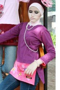 UKHTI Teens UT21 - Ungu (Toko Jilbab dan Busana Muslimah Terbaru)
