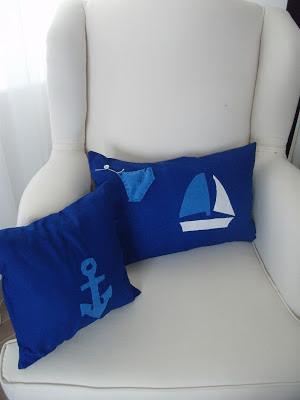yelkenli, çapalı yastıklar