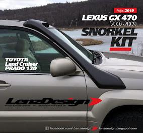 SNORKEL KIT Toyota Land Cruiser Prado 120  /  Lexus GX 470