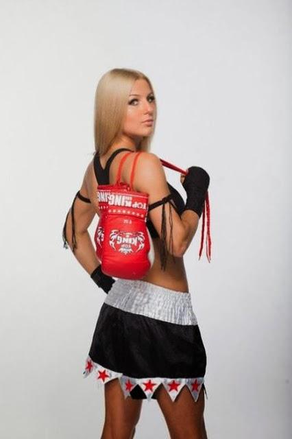 foto cewek thai boxing