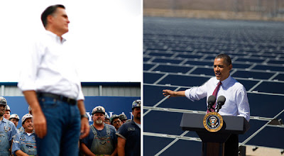 Both Obama and Romney avoid talk of the climate change