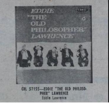 Eddie Lawrence – The Old Philosopher Lyrics | Genius Lyrics
