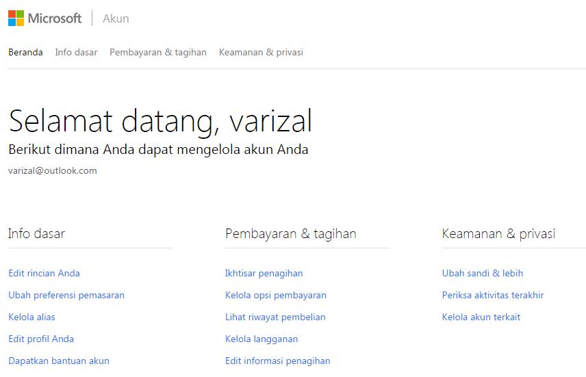 Cara daftar email akun Microsoft 3