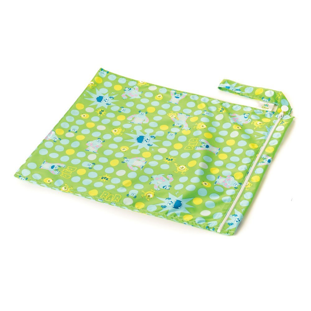 Bumkins Monsters Green Wet Bag
