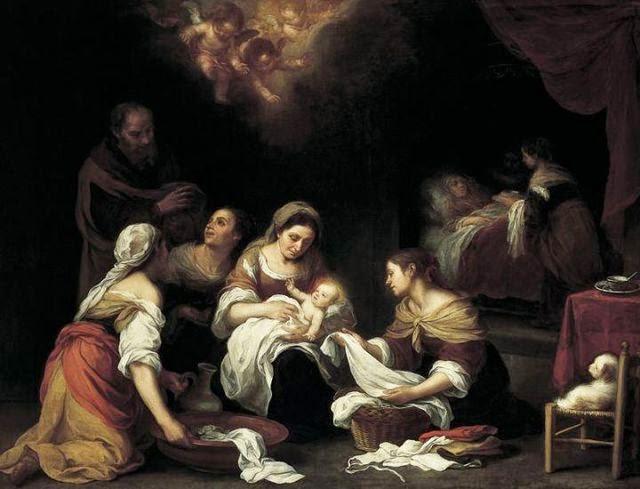 Nacimiento de San Juan Bautista realizada por el artista español Bartolomé Murillo