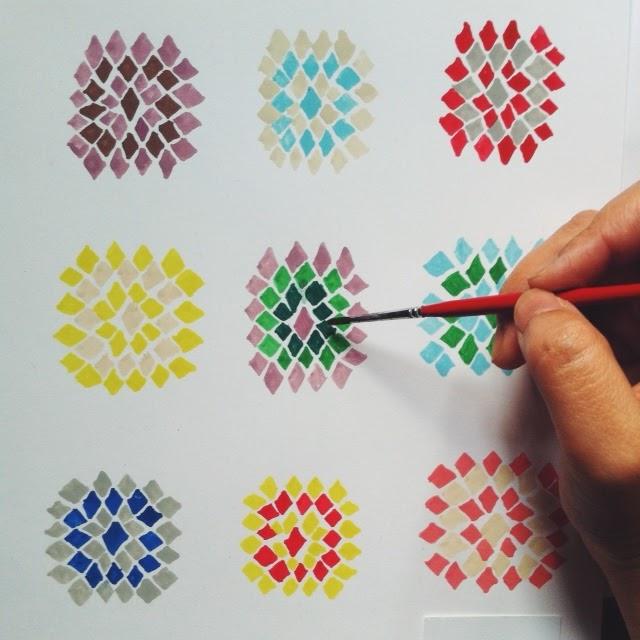 painting crochet pattern