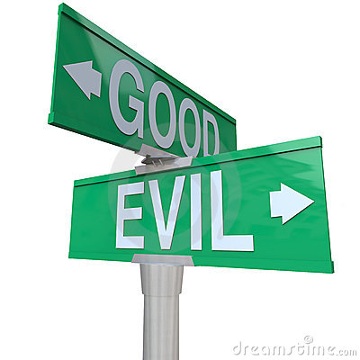 Notes In My Head: Good vs Evil – The Classic Struggle