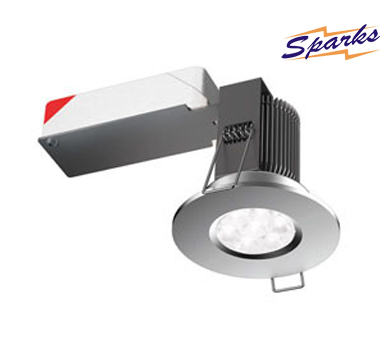 9W IP65 LED Fire Rated LED bathroom downlight