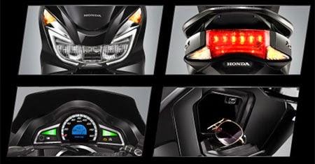 Fitur New Honda PCX 150