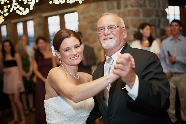 Narragansett Towers Wedding: Father Daughter Dance