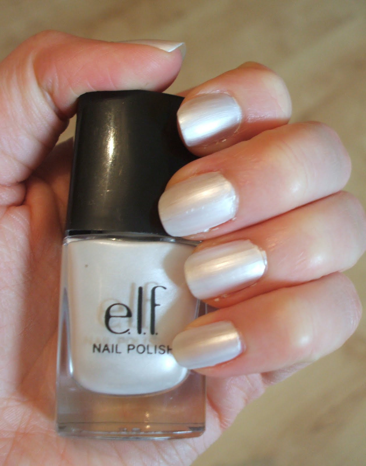 Definitelybeauty: Elf nail polish: Pearl