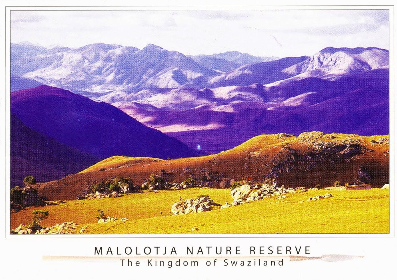 swaziland, postcard, nature, mountains