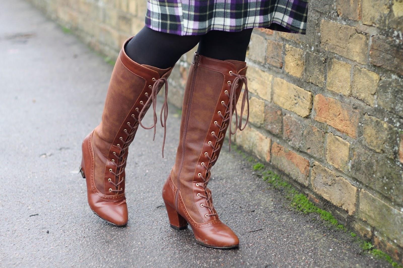 BAIT footwear Hazel boots in tan