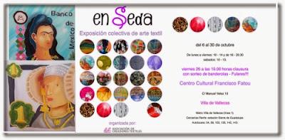 """ArteySeda """"En Seda"""" en Madrid."""