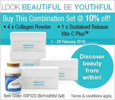 Feb 2018 Shaklee Promotion!!