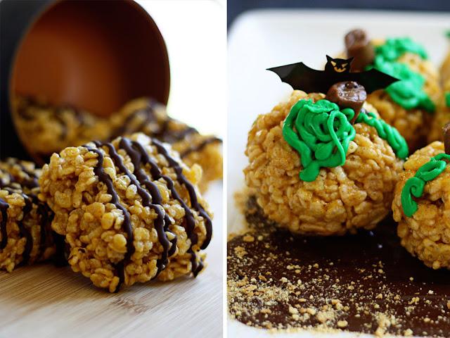 ... treat brown butter pumpkin rice krispie treats posted by in sock
