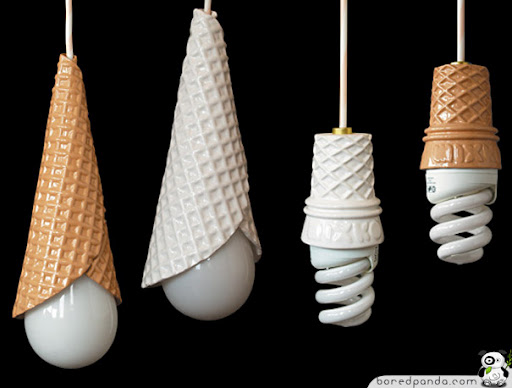Wacky Lamps fashion and art trend: amazing creative lamps