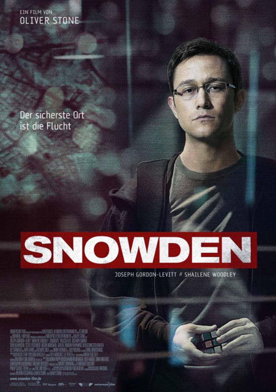 Snowden: Herói ou Traidor Torrent – BluRay 1080p Legendado