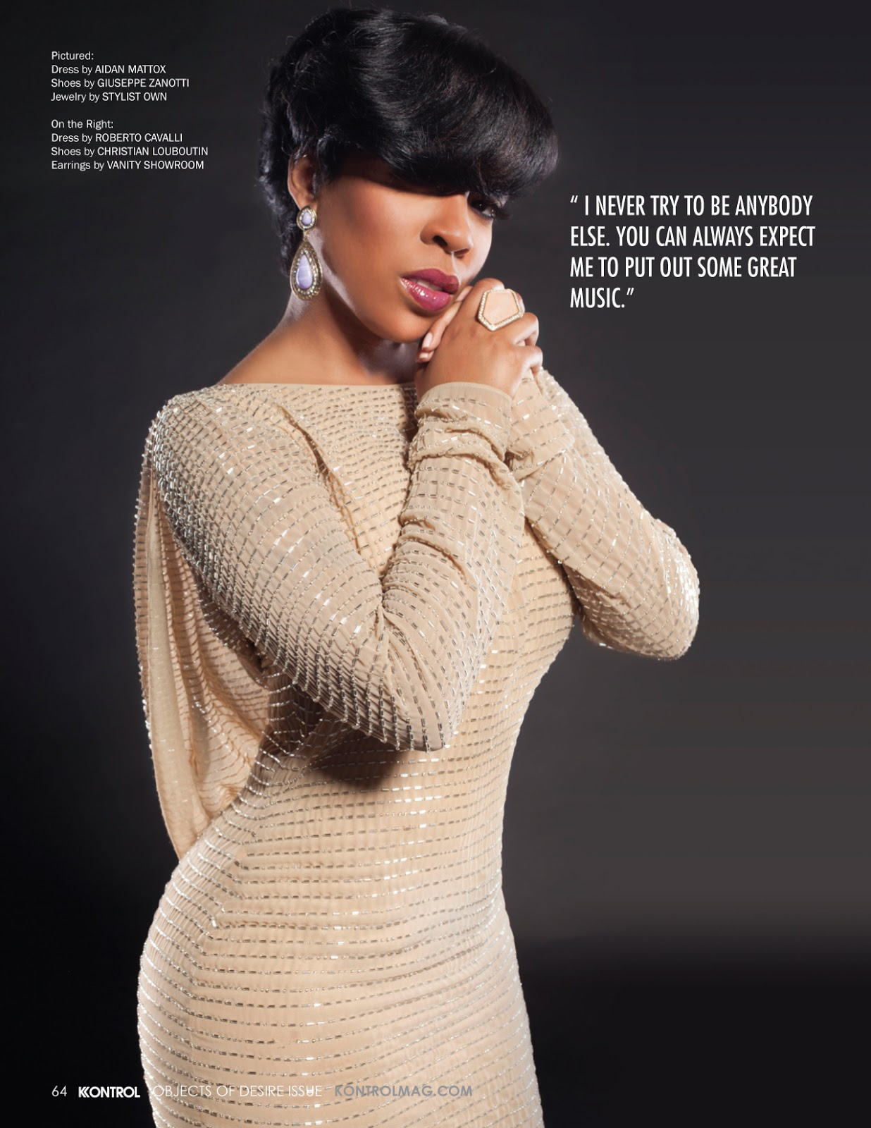 K  Michelle is Shaking Up The  K Michelle Before Record Deal