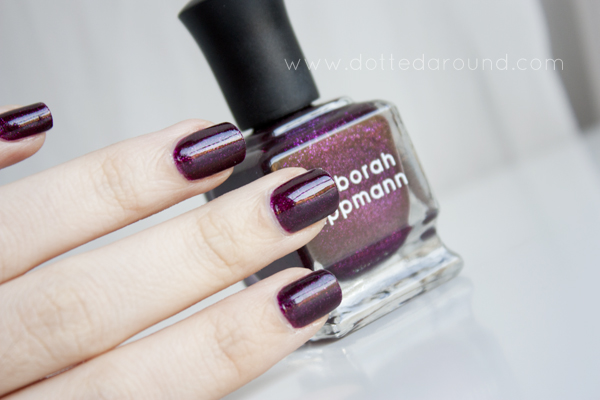 Deborah Lippmann good girl gone bad swatch
