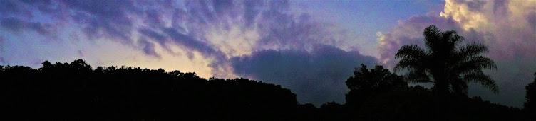 dusk near Cuernavaca