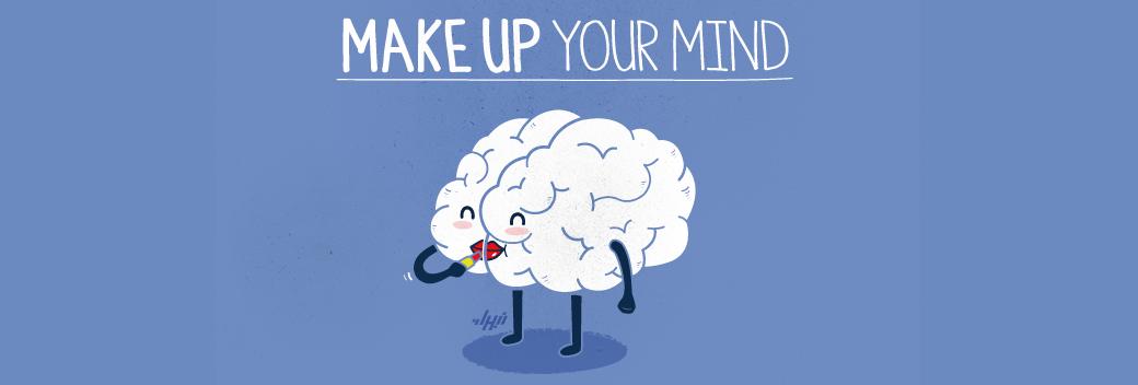Make Up Your Mind Easy | Ukrainian Lifestyle Blog