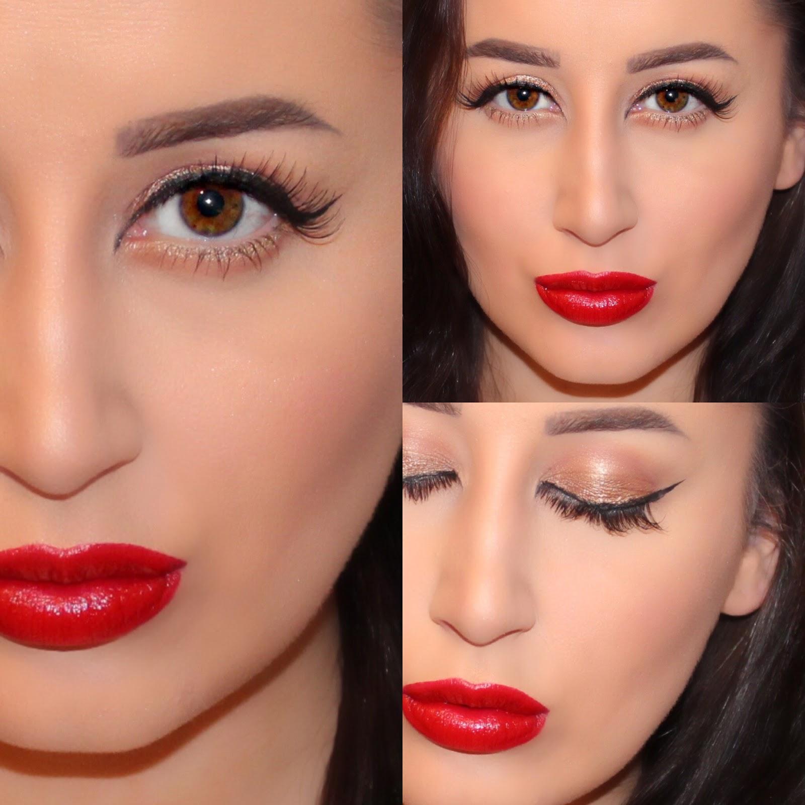 Vintage Glam Makeup Tutorial : Ashley Riley
