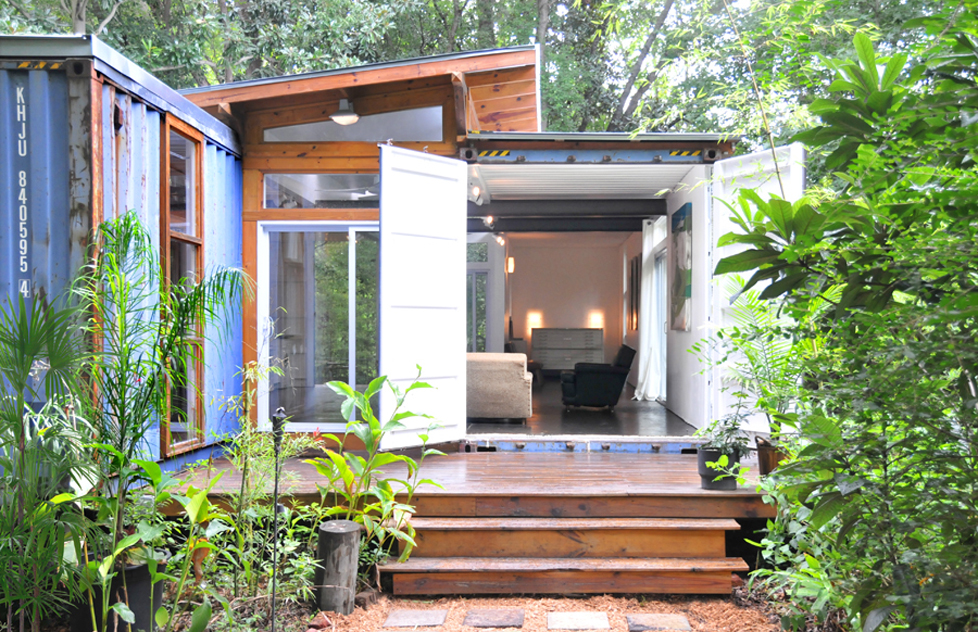 Shipping container homes 2 shipping container home savannah project price street projects - Storage containers as homes ...