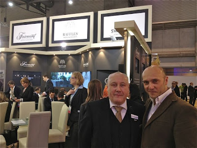 Sean Davores del Hotel Savoy y Esteban Capdevila