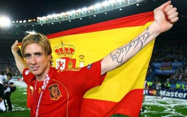 Fernando Torres Tattoo