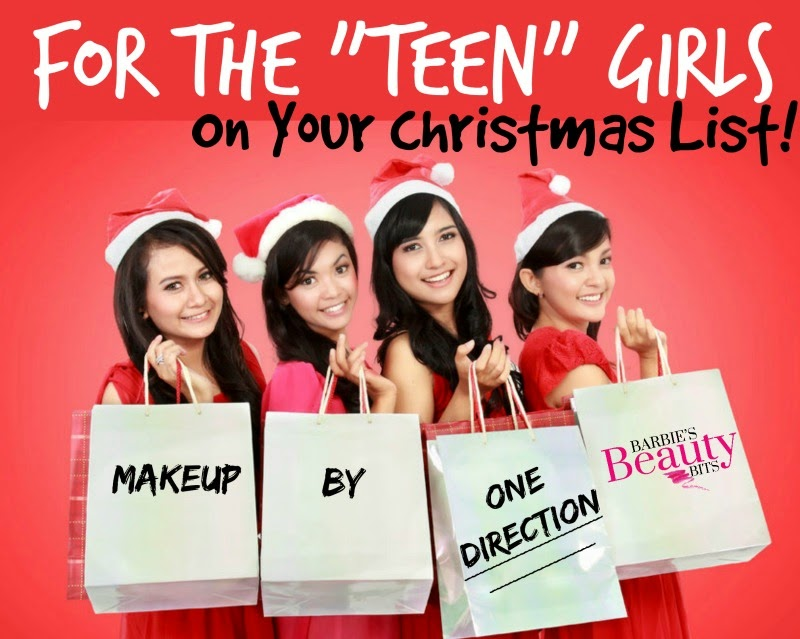 Makeup By One Direction; For The Teen On Your Christmas List By Barbies Beauty Bits