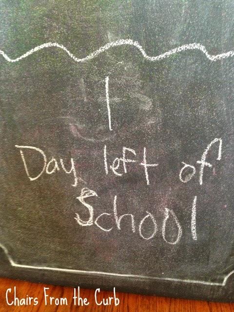Picture of chalkboard door