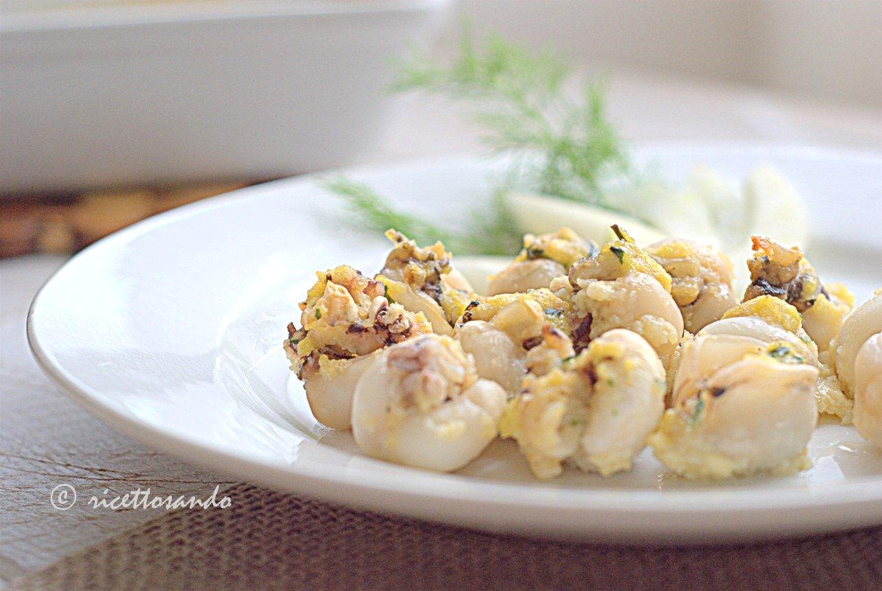 Seppioline ripiene al forno ricetta light di pesce
