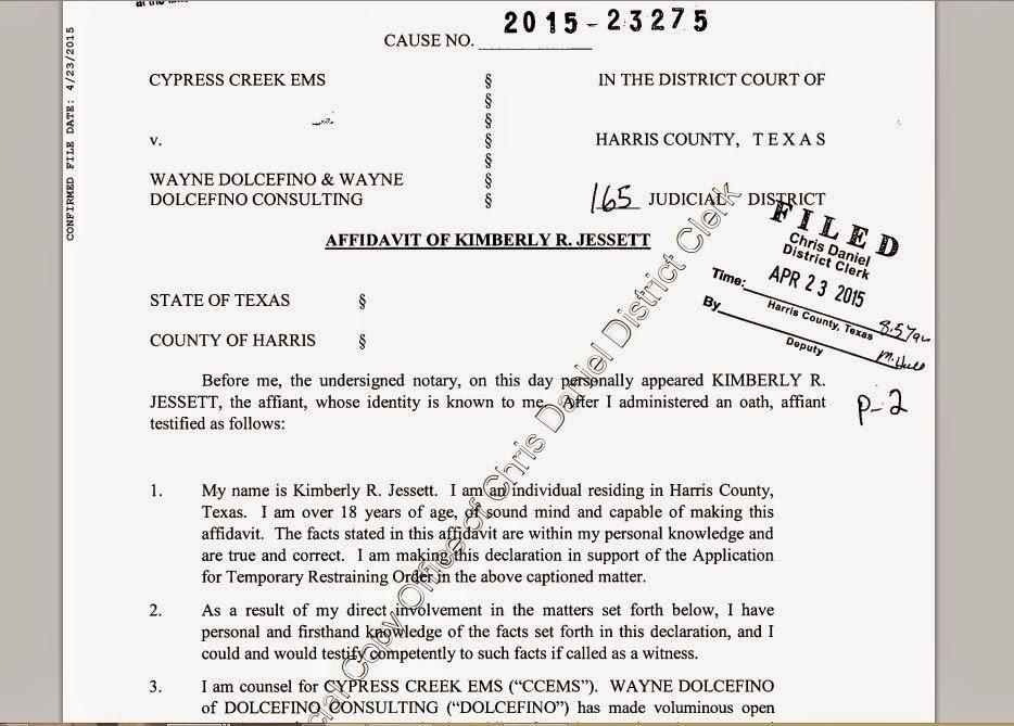 Cypress Creek EMS sues to get restraining order against Wayne ...