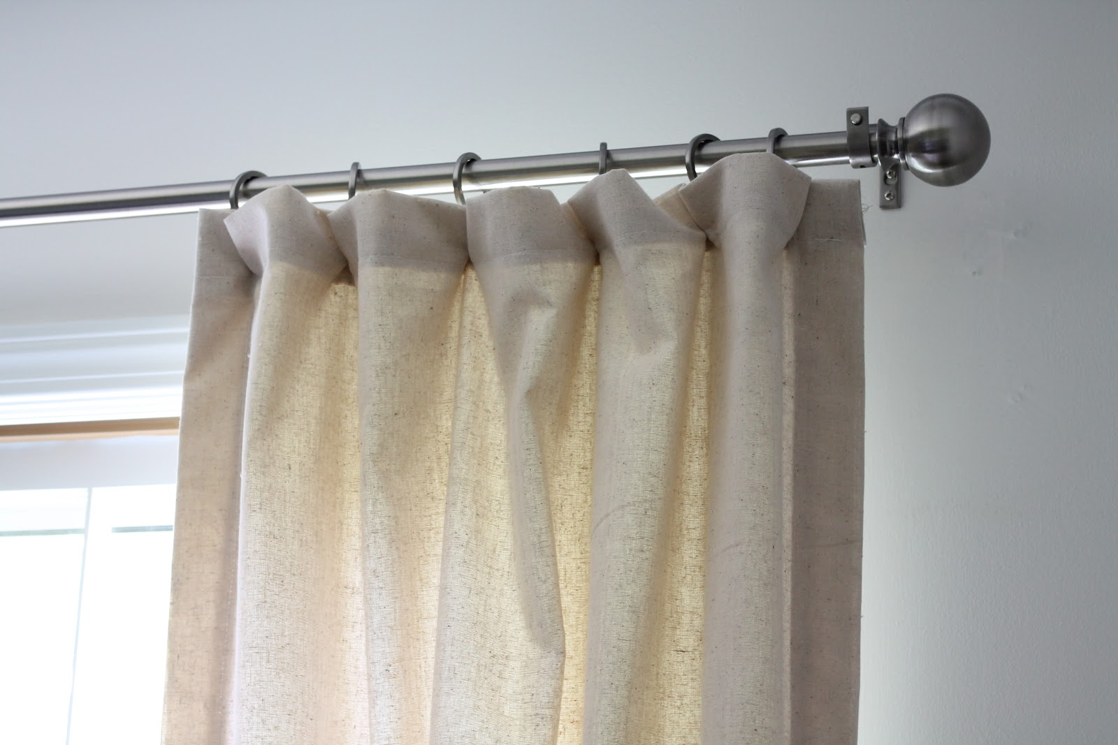 lined drapes tutorial julie blanner. Black Bedroom Furniture Sets. Home Design Ideas