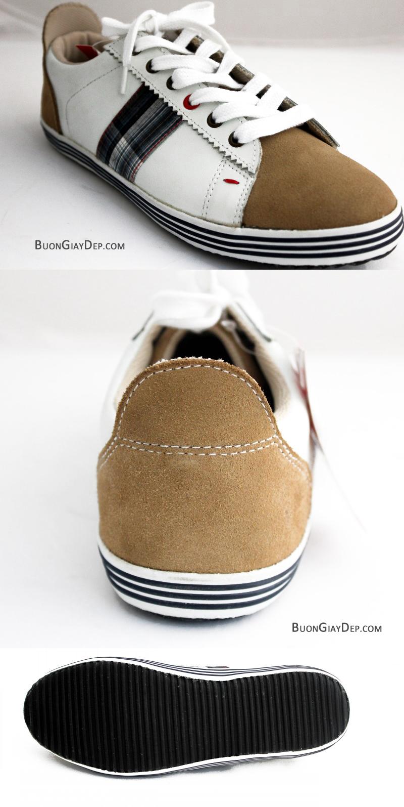 Bán buôn giày dép Hà Nội | Giày sneaker GAL | ML-306 TRẮNG