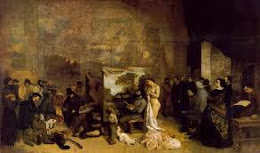 El estudio o alegoría de Gustave Courbet.