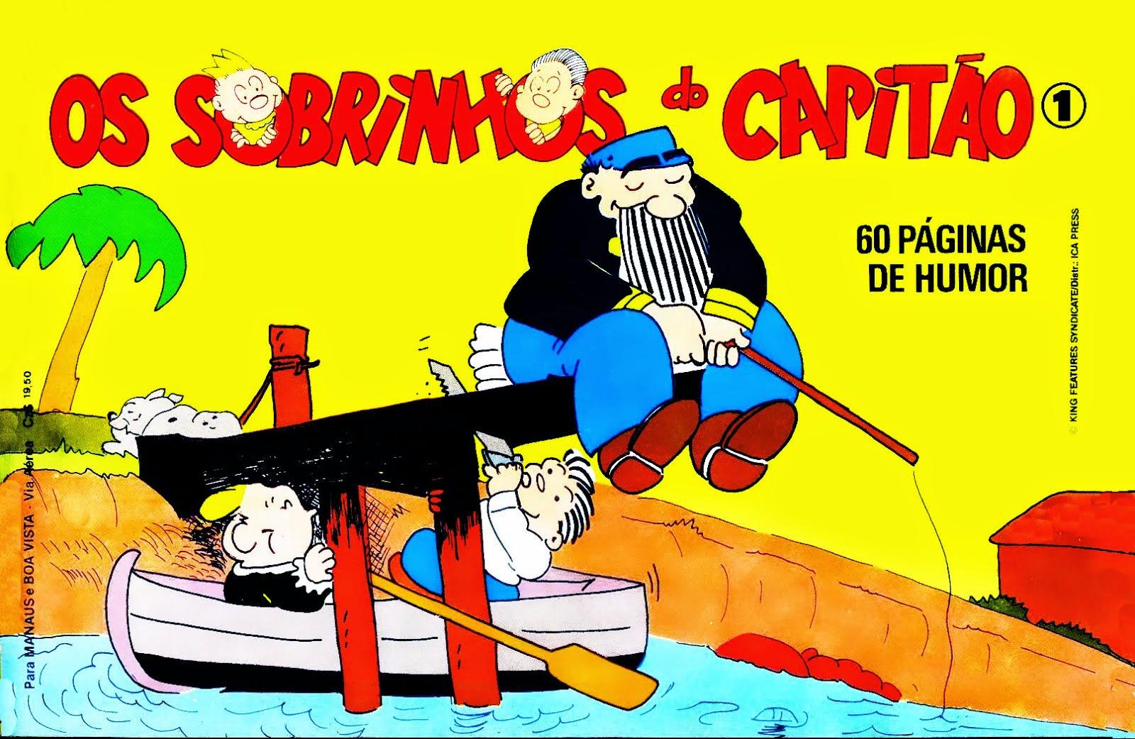SOBRINHOS DO CAPITÃO Nº 001 1987