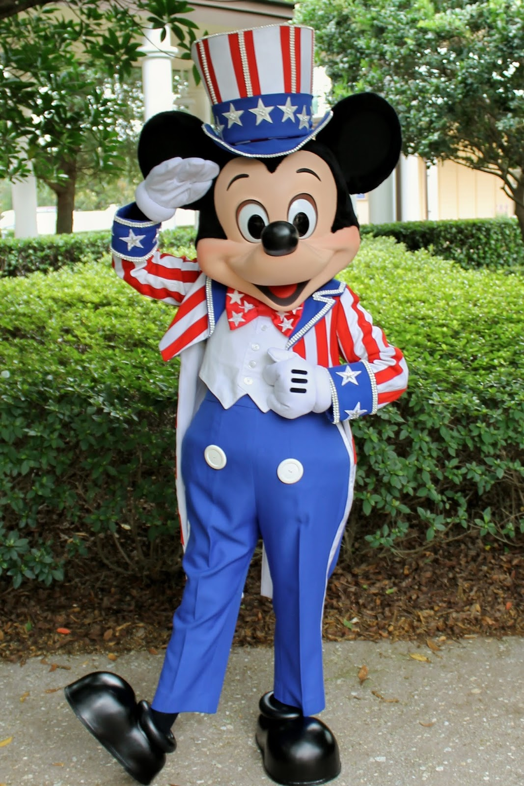 unofficial disney character hunting guide independence day at