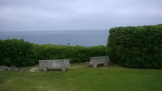 rincón mágico junto al mar.