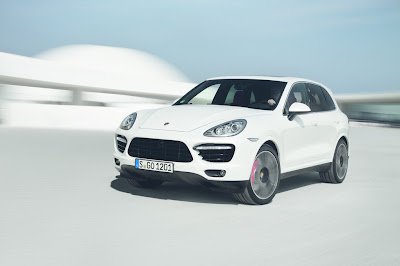 Cayenne Turbo S is most powerful Porsche's SUV
