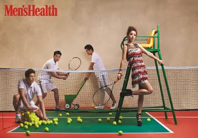 Hong Soo Ah - Men's Health Magazine December Issue 2013