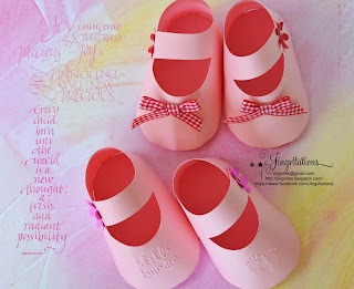 3d_invitations handmade_invitations baby_shower baby_shoes