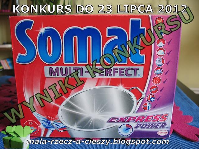 Wyniki konkursu Somat Multi Perfect z formułą Express Power
