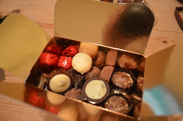 Loughborough chocolate alchemy gift box